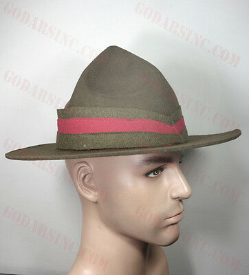 WW1 New Zealand Expeditionary Force Infantry Lemon Squeezer Hat L (59-60)