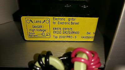 Hansmann Electronic Ignitor ZG501Pro for electronic Ballest / for  EXFO  S2000
