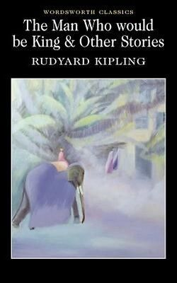 """""""The Man Who Would be King and Other Stories by Rudyard Kipling Paperback Book"""