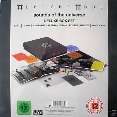 NEW / Depeche Mode - Sounds Of The Universe (Deluxe Box Set)