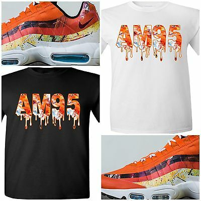 detailed look 17d7b bcde0 EXCLUSIVE TEE T-SHIRT TO MATCH THE DAVE WHITE x NIKE AIR MAX 95