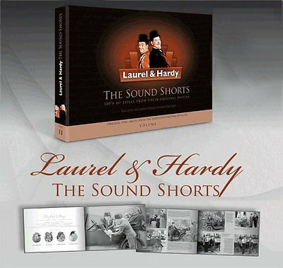 Laurel and & Hardy  'THE SOUND SHORTS BOOK' Lots of photos from their films.