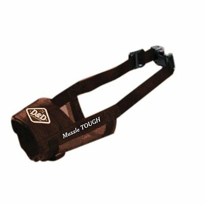Europet D & D Nylon Dog Muzzle Xx-Large Brown Soft Quick Strong New UK SELLER