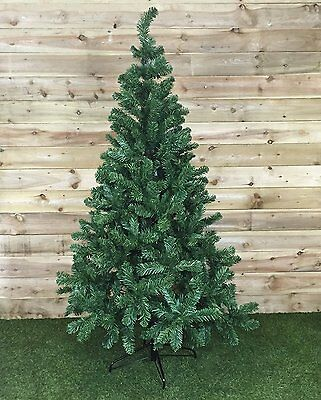 6 ft Christmas Tree Classic  Realistic Natural Branches Pine,Green with 525 tips