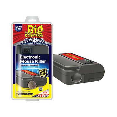 STV Ultra Power Electronic Mouse Killer Pest Control Rodent Repellent Trap