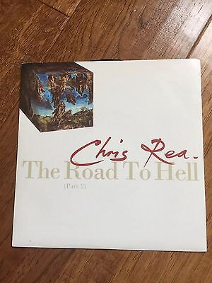 CHRIS REA - The Road To Hell - 1989 UK 7 Vinyl Single Part 2