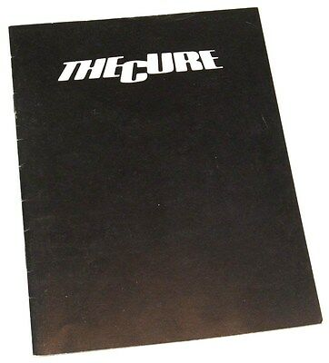 THE CURE - Picture Tour/Carnage Visors - FULLY SIGNED faith booklet 100% GENUINE