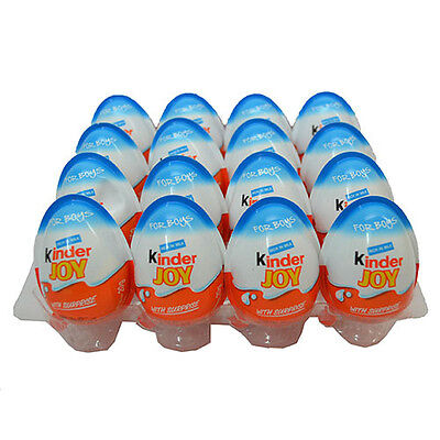 15 x Kinder Joy Chocolate Eggs  Boys surprise gifts inside full eggs Best price