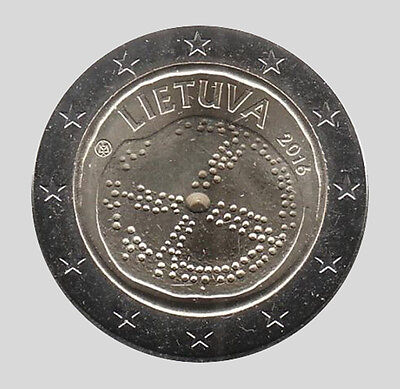 Lituanie 2016 - 2 Euro Comm - The Baltique Culture (UNC)