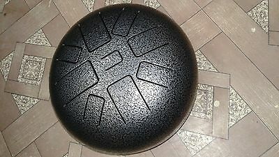 Tongue Drum handpan/Tank Drum/ steel Tongue drum made in India perfect tuned 440