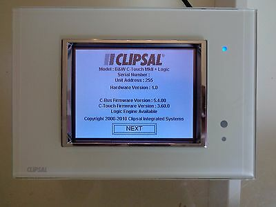 Clipsal C-Bus 5080CTL2 C-Touch With Logic Engine 5000CTL2 Series