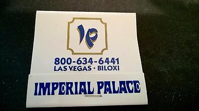 97 Matchbook Cover -Imperial Palace Hotel Casino Las Vegas NV 1970 (nl)
