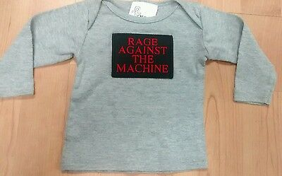 Rage Against the Machine Infants 3-6 Month Long Sleeve Shirt