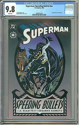 Superman: Speeding Bullets (1993) CGC 9.8 White Pages 0286351002