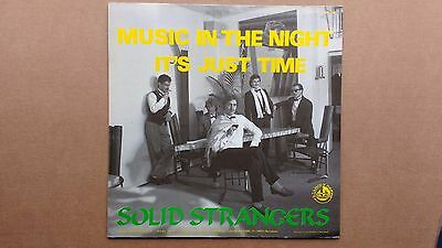 """Solid Strangers Music in the Night 1985 Euro Disco Synth Pop rare dance 12"""""""