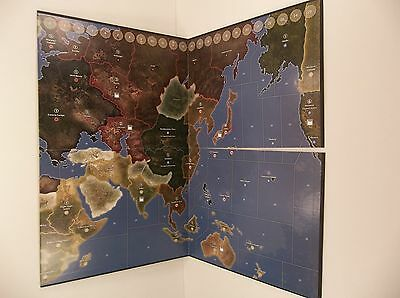 1941 Axis & Allies Board Game Board Replacement Part
