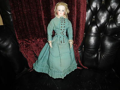 """13"""" Ant Francois Gaultier French Fashion Doll, Great Body, Great Clothes AS IS"""