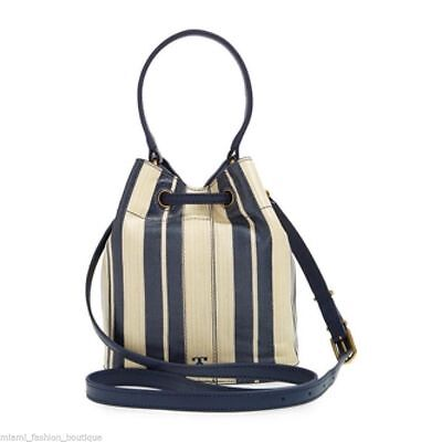 a9c943ffc989 NWTS TORY BURCH printed leather mini bucket 100% REAL retail  5560+ ...