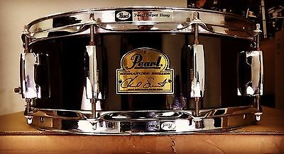 "Pearl 14x5"" Chad Smith Signature Steel Snare Drum!"