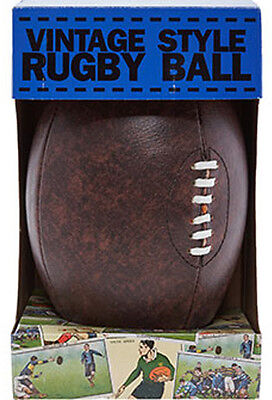 Vintage Style Rugby Ball