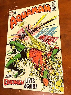 AQUAMAN #50 (1970) FEAT. DEADMAN by Neal Adams OCEAN MASTER Nick Cardy classic