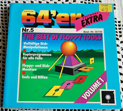 64´er Software EXTRA Nr.: 5 The Best of Floppy Tools, mit Disketten
