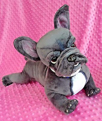 """OOAK~collectable~15.5""""~poseable~French Bulldog~Frenchie~puppy~dog"""
