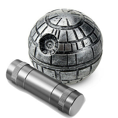 Star Wars Death Herb Mill Crusher Tobacco Grinder 3 Layers Zinc Alloy 55mm Gift