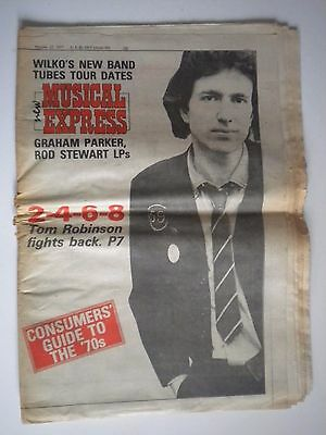 NME  - October 22nd 1977