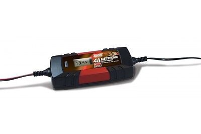 6V 12v 4A Electronic Smart Car Battery Fast Trickle Charger WET AGM ACID mp7423