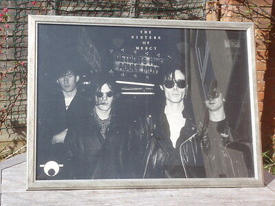 Original Sisters of Mercy poster framed