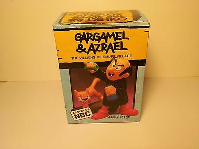 Vintage Super Smurf Gargamel & Azrael 1978 - MINT IN BOX