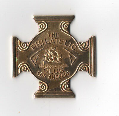 1932 Medal The Philatelic Club Los Angeles Uncirculated