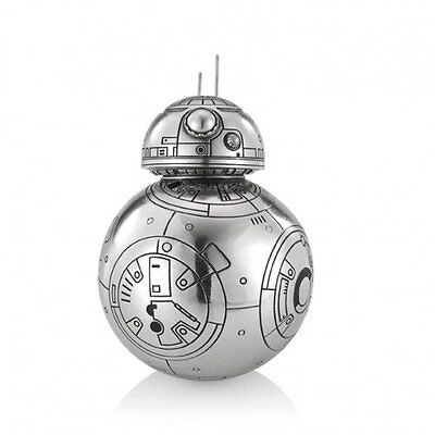 Star Wars Pewter Figurine BB8 Container - Lucasfilm Approved - by Royal Selangor