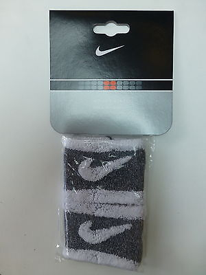 Unisex Nike Wristbands Grey/white AC0420-101  REDUCED IN PRICE!