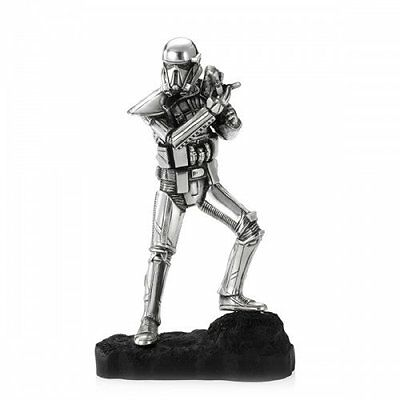 Star Wars Pewter Figurine Death Trooper - Lucasfilm Approved - by Royal Selangor
