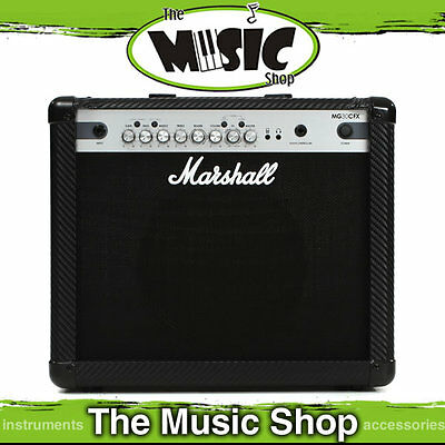 """New Marshall MG30CFX 30w Guitar Amplifier Combo - 1 x 10"""" - Amp with Effects"""