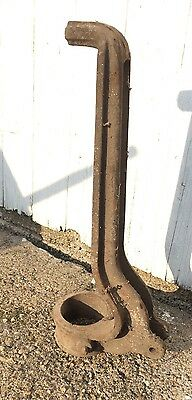 Well Pump Water Antique Cast Iron Handle Top Jack Farm Garden