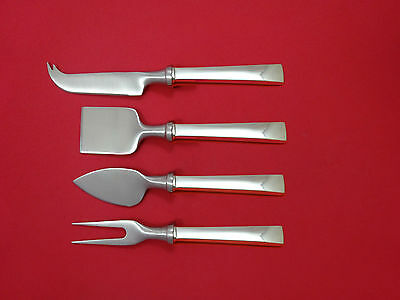 Continental by International Sterling Silver Cheese Serving Set 4pc HHWS  Custom