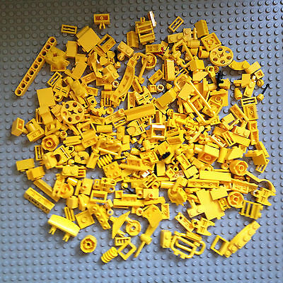 Lego 334 Yellow Bricks Small Modified Specialty Parts Pieces Accessories