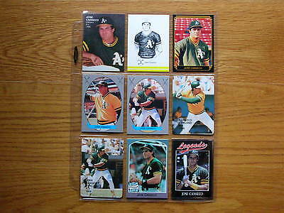 Jose Canseco Broder Card P4 Pacific Comics #13 Mint Oddball