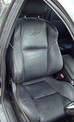 VY VZ SS crewman black leather seats door trims inserts