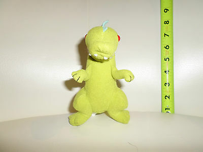 "Rugrats Applause Reptar The Dinosaur 5"" Plush Bean Bag Toy"
