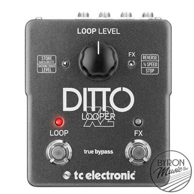 TC Electronic Ditto Stereo Dual Button Looping Pedal