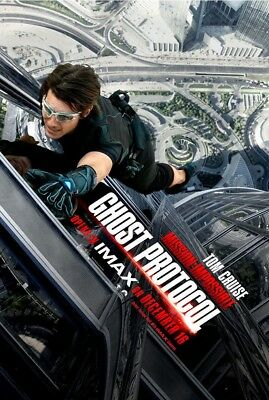 MISSION IMPOSSIBLE 4 GHOST PROTOCOL MOVIE POSTER 2 Sided ORIGINAL Ver B 27x40