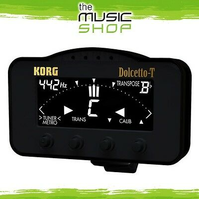 New Korg Dolcetto Tuner & Metronome for Trumpet & Trombone - AW3T
