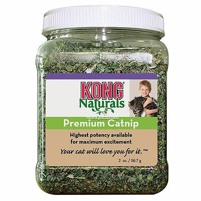Chataire Kong Premium 57 Gr, Herbe Pour Chats Naturel - Kong