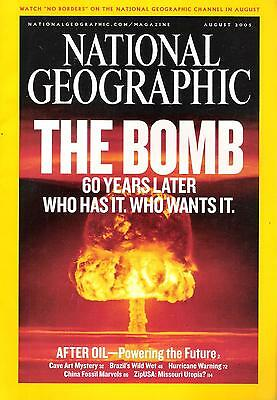 National Géographic(EN) VOL.208 NO.2 August 2005 The Bomb 60 Years Later,...