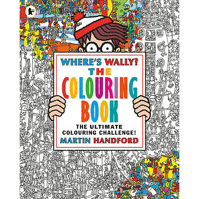 Wheres Wally - The Colouring Book (Paperback), Children's Books, Brand New