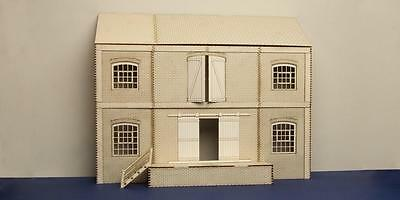 O gauge (7 mm) lineside warehouse low relief version - LCC B 70-02